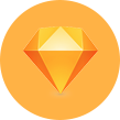 Sketch vector icon