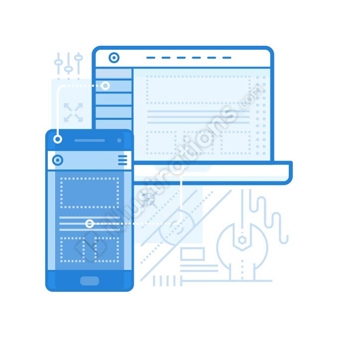 adaptive ui illustration