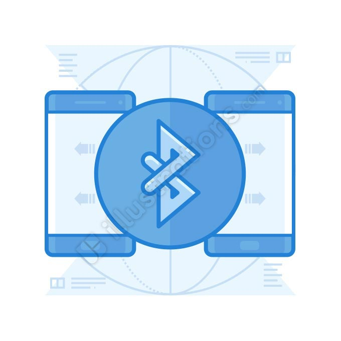 bluetooth illustration