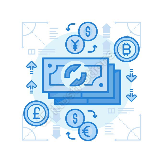 currency illustration