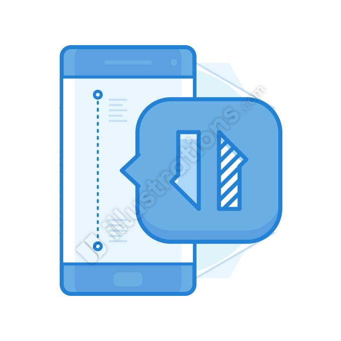 data transfer illustration