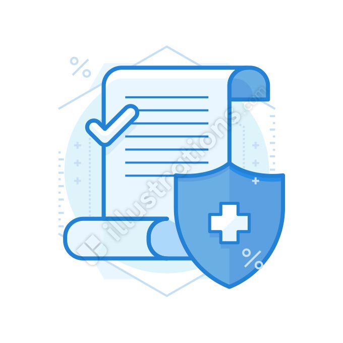 insurance illustration