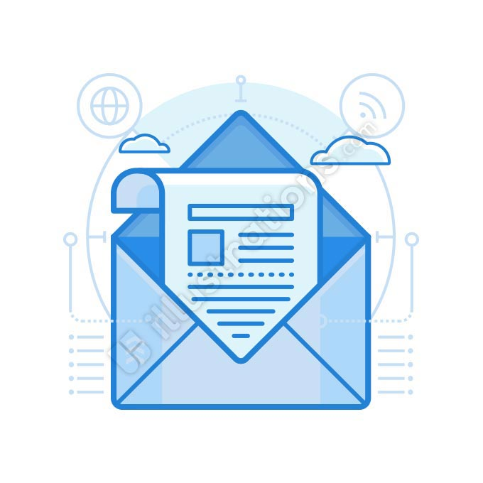 newsletter illustration