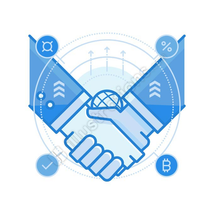 partnership illustration