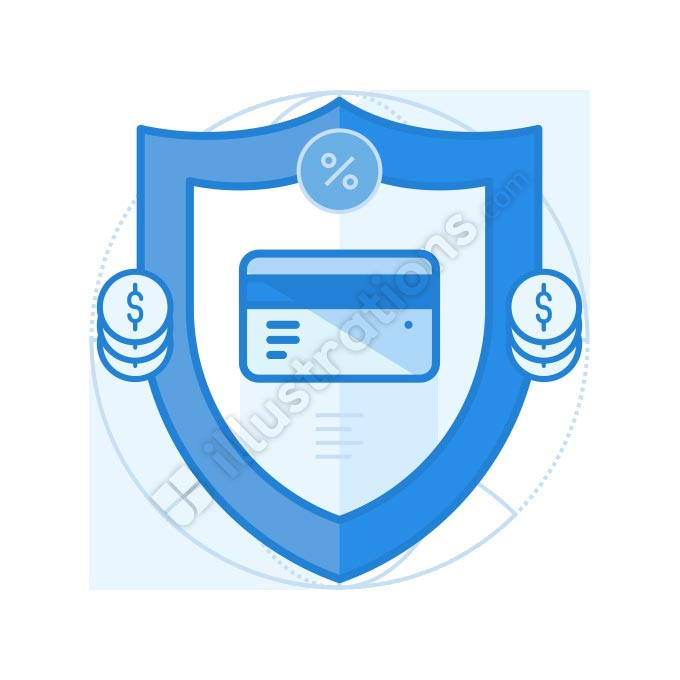payment secure illustration