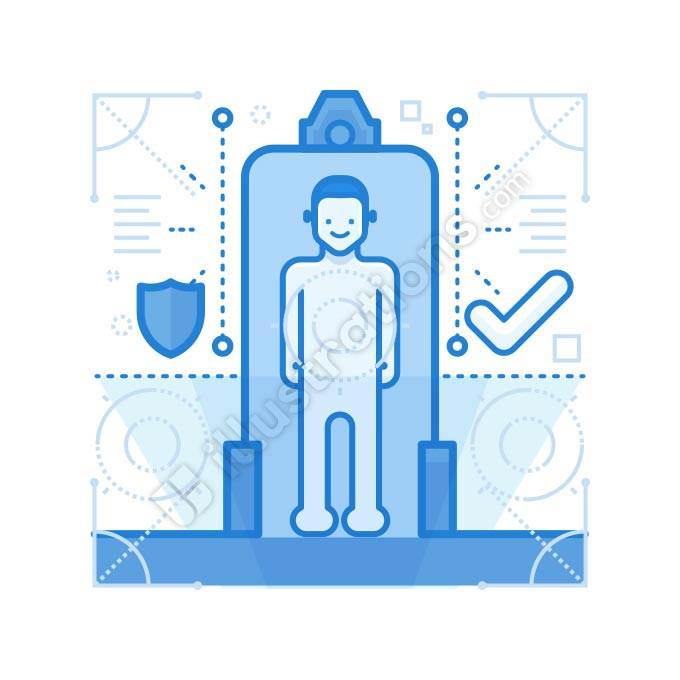 security check illustration
