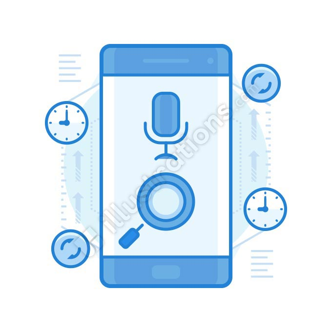 voice assist illustration